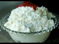 Lebanese Ashta Recipe - Clotted Cream - طريقة تحضير القشطة الطازجة - YouTube