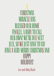 50+ Christmas Wishes Quotes. Maternity Christmas CardChristmas Pregnancy  RevealChristmas ...