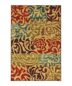 Take a look at this Select Canvas Bangkok Area Rug on zulily today!