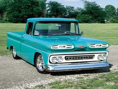 Pic Request: teal/turquoise (stock color) trucks - The 1947 - Present Chevrolet & GMC Truck Message Board Network