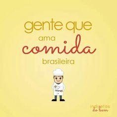 Ama comida brasileira