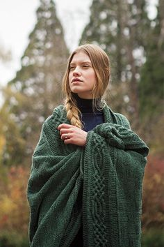 Stornoway Throw - Knitting Patterns and Crochet Patterns from http://KnitPicks.com by Edited by Knit Picks Staff On Sale