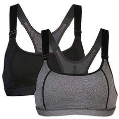 a0372f5191556 Women s Racerback Sports Bra High Impact Push Up Seamless Full Figure  Racerback Wirefree Yoga Top Bra