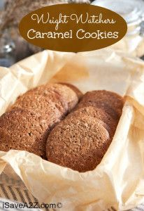 Weight Watchers Caramel Cookies Recipe to DIE FOR!!!  iSaveA2Z.com