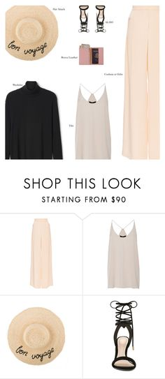 """Untitled #3019"" by amberelb ❤ liked on Polyvore featuring Cushnie Et Ochs, TIBI, ALDO and Royce Leather"