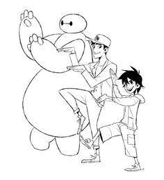 I had to draw some fanart for big hero six, really enjoyed it!!!!! ( ´ ▽ ` )<----- this is so cute!
