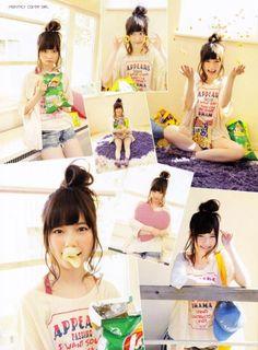 Haruka Shimazaki【AKB48 画像 動画】照れ隠しカーテンさんのブログ