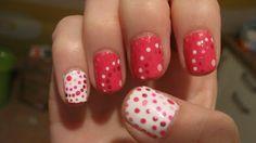 Pink Polka Dots.