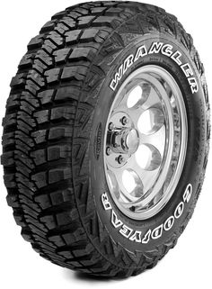 The Wrangler MT& with Kevlar is Goodyear& first off-road tire to incorporate DuPont™ Kevlar®, an innovative material that& pound for pound, five times stronger than steel. Buy Tires, Tires For Sale, Rims And Tires, Wheels And Tires, Off Road Wheels, Off Road Tires, Cheap Tires, Goodyear Wrangler, Goodyear Tires