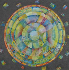 Mandala paintings - Margaret Bremner - Álbumes web de Picasa
