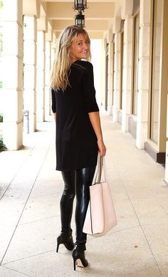 $10.99 | High Waisted Slimming Fall Faux Leather Leggings! | Jane