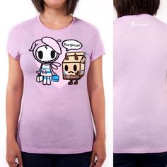 Tokidoki's Cafe Adieu Tee makes it to our a Daily Deal! Save 10% off this cute shirt that features Cafe Au Lait from the Moofia Series 2 series!  #dailydeal #tokidoki #cafeadieu #cafeaulait #moofia #tokidokiapparel #apparel  #arttoys #arttoy #vinyltoy #vinyltoys #designertoys #desgnertoy #designer #designers #art #vinyl #toy #toys #collectibles #collectible #markham #mindzai #toronto