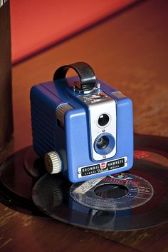 Kodak Brownie Hawkeye.