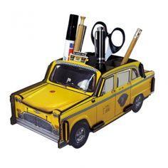 Werkhaus Shop - New York Taxi - Stiftebox
