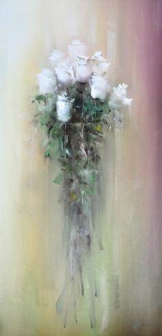 Трубанов Виталий. Букет белых роз