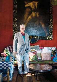The Aesthetes - Christopher Gibbs in Tangier (T Magazine, Photo: Will Sanders)