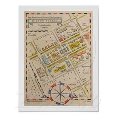 Milton Keynes Ancient Style Map