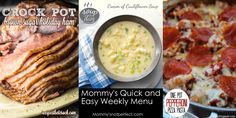 Quick and Easy Meals – Mommy's Not Perfect