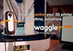 3D Printer-Monitoring Cameras — via #3DPrinting