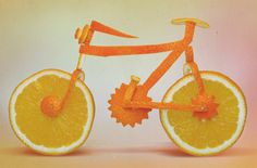 La #Bicicleta irresistible y comestible... vía @Candidman