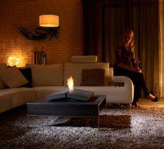 Fireplace on your Coffee Table by Porsche Studio Design | http://www.designrulz.com/product-design/light/2011/09/fireplace-on-your-coffee-table-by-porsche-studio-design/