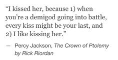 cannot WAIT for crown of Ptolemy to come out<<<IT'S OUT AND THIS ISN'T THE ONLY PERCABETH MOMENT!