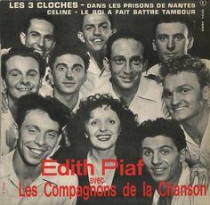 Edith Piaf et Les Compagnons de la Chanson - Les trois cloches - France -