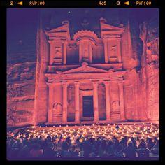 Magical #Petra by Night #Jordan. #Amman #JO