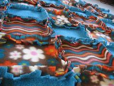 Cute Fleece Quilt Pattern