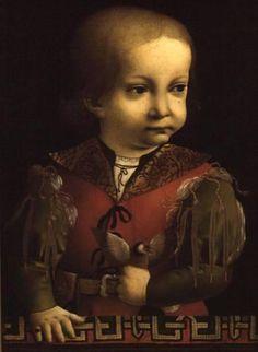 Francesco Sforza as a Child by Predis, Ambrogio de (c.1455-c.1522)  Bristol City Museum and Art Gallery