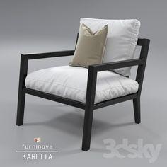 Furninova Karetta armchair