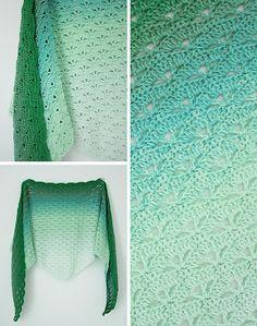 New crochet pattern Scheepjes Whirl: Cloud No.9 Shawl