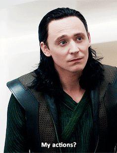 Loki in Thor the Dark World