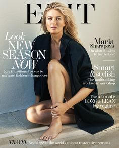 Maria on Her SImple Life–Russian tennis star Maria Sharapova takes the spotlight for the latest issue of The Edit from Net-a-Porter. The blonde beauty poses… Maria Sharapova Hot, Sharapova Tennis, Maria Sarapova, Tennis Players Female, Tennis Stars, Blonde Beauty, Female Athletes, Sport Girl, Sports Women