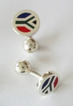 South African cuff links!
