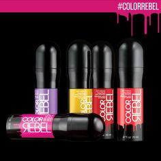 Redken Color Rebel hair makeup.