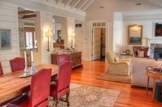 Sullivan's Island Gigi House panelling shiplap cottage details