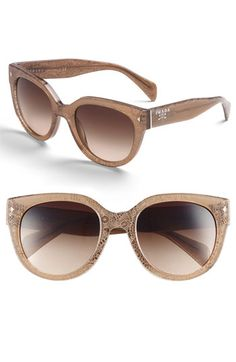 Prada Cat's Eye Sunglasses <3<3<3 I WANT THESE. Tried them on the other day and they looked AMAZING on me!!!!