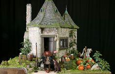 My Dream Dollhouse: Hagrid's Hut ~ Rik Pierce & Sally Wallace