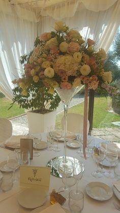 Martini con fiori