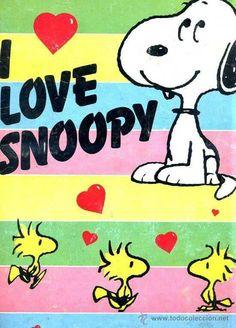 I love <3 Snoopy