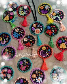 نور القرآن's media content and analytics Crochet Mandala Pattern, Freeform Crochet, Crochet Patterns, Crochet Accessories, Handmade Accessories, Crochet Bracelet, Crochet Earrings, Crochet Crafts, Crochet Projects