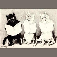 cats reading - Google Search