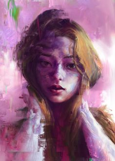 Beauty and the Glitch, jerome Birti on ArtStation at https://www.artstation.com/artwork/aaxvR