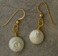 Easy wire wrapped earring