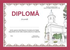 Graphic design for a diploma offered by orthodox church to their benefactors Taj Mahal, Graphic Design, Visual Communication