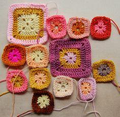 COLORS Babette Blanket, beginnings! by the purl bee, via Flickr