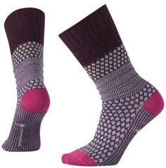 Wearing these women's Merino socks is like wearing your favorite comfy sweater on your feet. Plus, they're breathable, wicking and don't itch or hold odor.