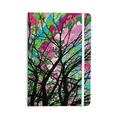"Empire Ruhl ""Tree Of Spring 2"" Green Nature Everything Notebook"