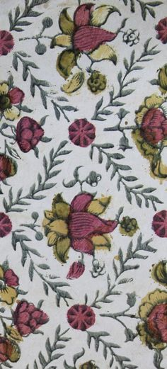 Like this idea of and with Textile Patterns, Color Patterns, Print Patterns, Textiles, Motif Floral, Floral Prints, Passementerie, Expositions, Texture Design
